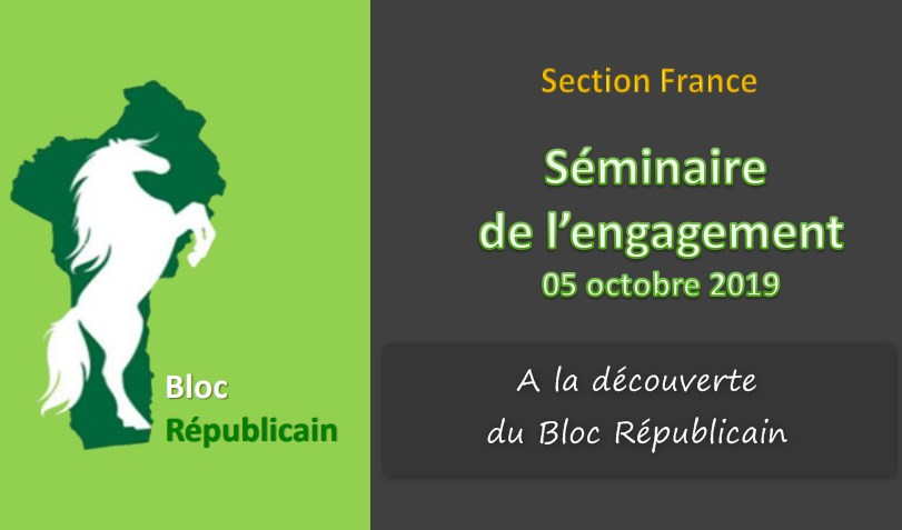 Séminaire de l'engagement de la section-France du BR